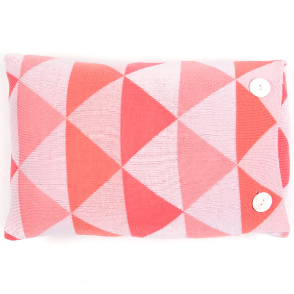 Indiana oblong cushion - Peach