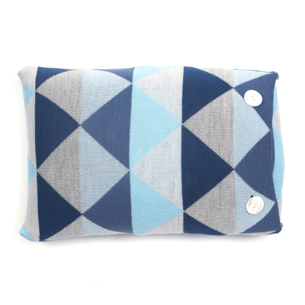 Indiana oblong cushion - Indigo