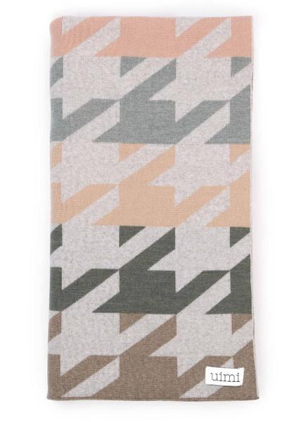 Hannah Blanket - Tea (folded)