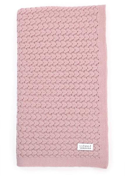 Ruby Blanket - Peony (folded)