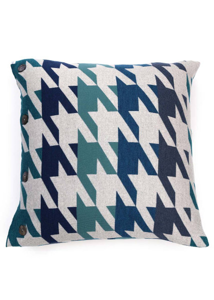Hannah Cushion - Indigo