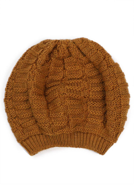 Imogen Kids Beanie - Curry