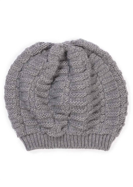 Imogen Kids Beanie - Pebble