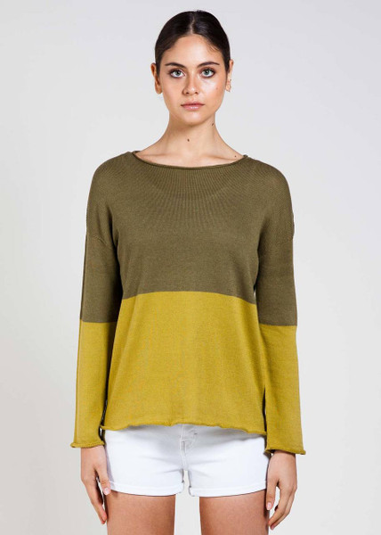 Harlow Jumper in Olive