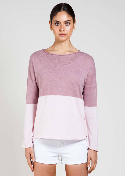 Harlow Jumper in Rosewood