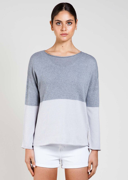 Harlow Jumper in Smoke