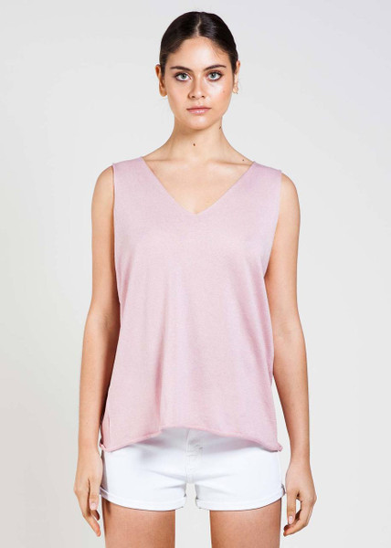 Tully Tank in Blush