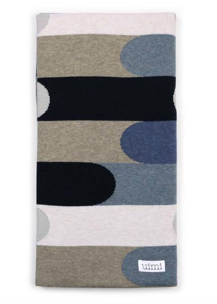 Finn Blanket in Denim (folded)