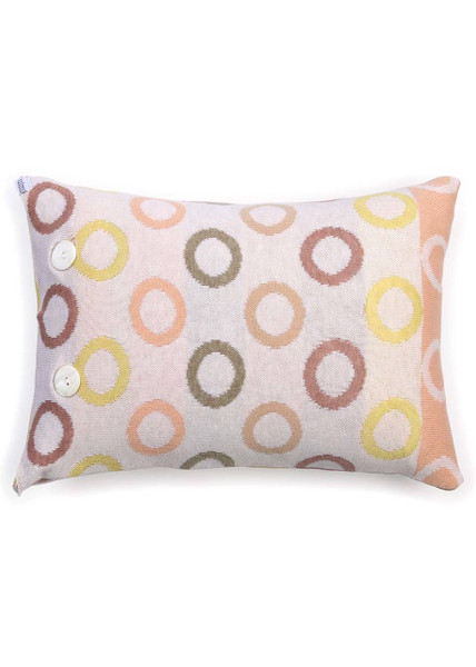 Fruit Loops Cushion in Rosewood