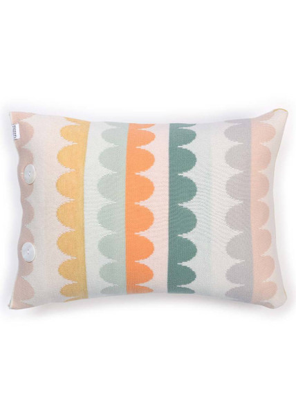 Molly Cushion in Apricot