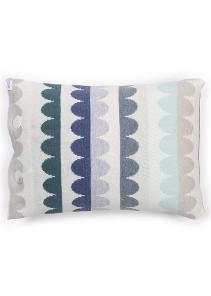 Molly Cushion in Duck Egg