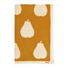Blanki pairs of pears blanket (gold) - Folded