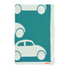 Blanki traffic jam blanket (turquoise) - Folded