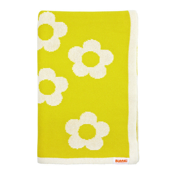 Blanki daisy chain blanket (acid) - Folded