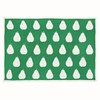 Blanki pairs of pears blanket (emerald) - Full