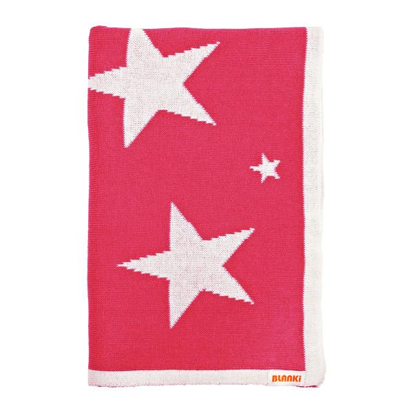 Blanki starry night blanket (azalea) - Folded