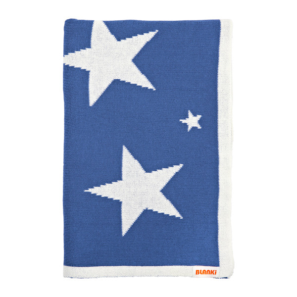 Blanki starry night blanket (ocean) - Folded