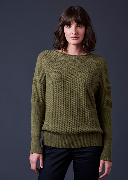 Bellamy Jumper - Fern (front)