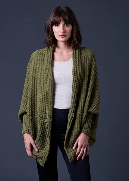 Bellamy Shrug - Fern (front)
