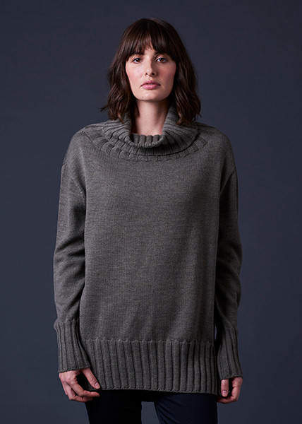 Juno Jumper - Army (front)