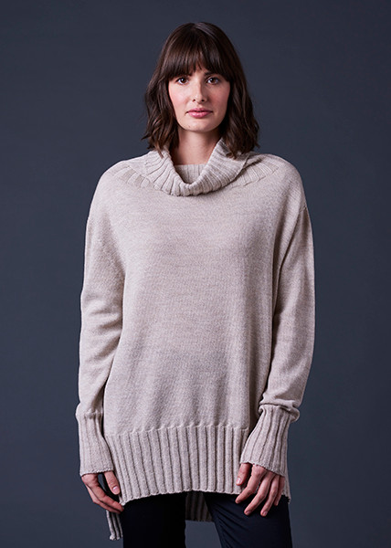 Juno Jumper - Oatmeal (front)
