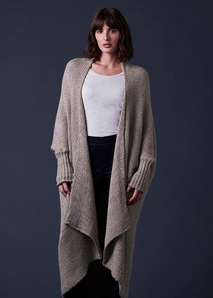 Lulu Jacket - Almond (front)