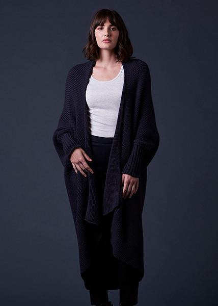 Lulu Jacket - Blackcurrant (front)
