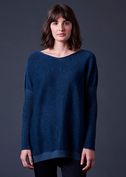 Tabitha Jumper - Duck Egg (front)