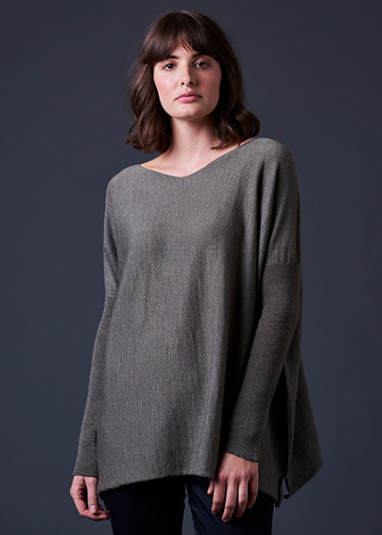Tully Top - Army (front)