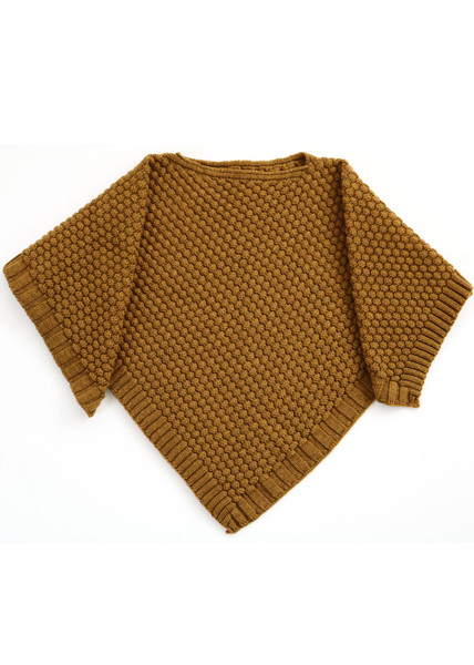 Bellamy Poncho - Cinnamon