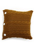 Trinity Cushion - Brass