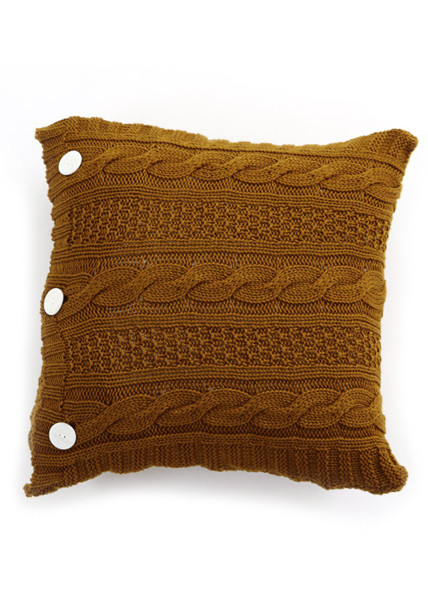 Trinity Cushion - Brass