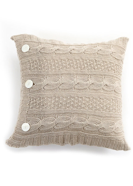Trinity Cushion - Merino Wool - Oatmeal