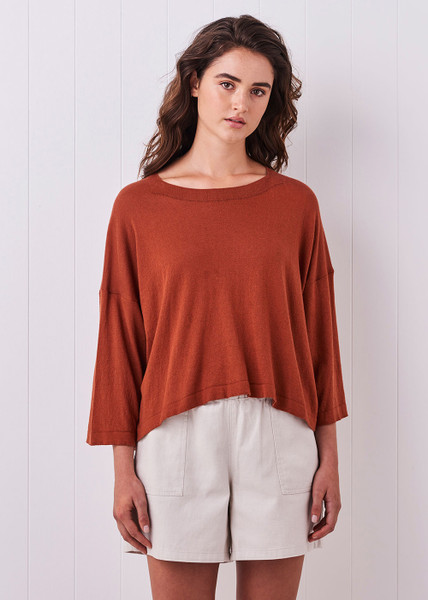 Esme Top - Rust