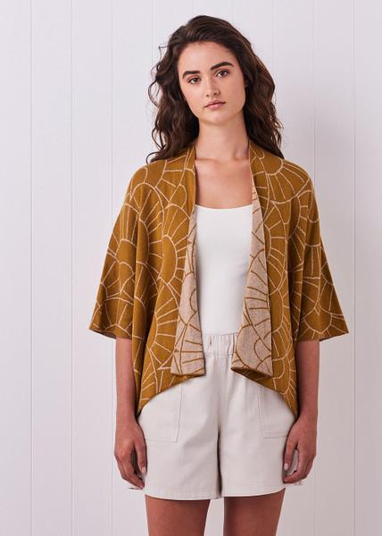 Tansy Kimono - Saffron