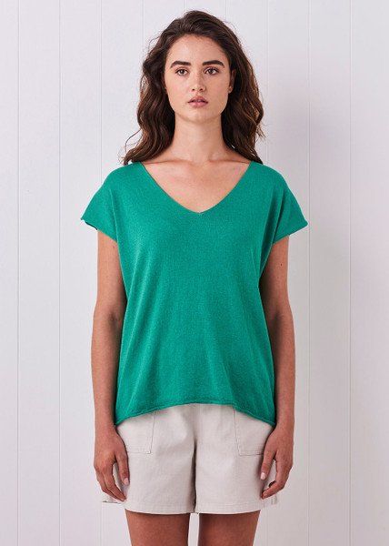Tully Tee - Peacock