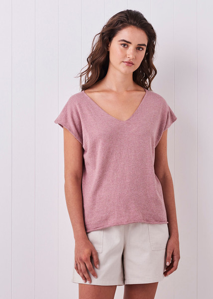 Tully Tee - Rosewood