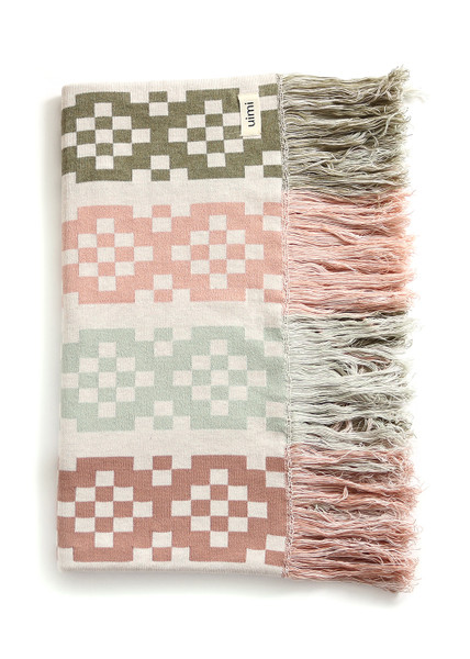 Willa Blanket - Moss