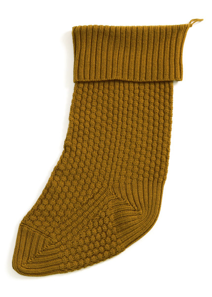Bellamy Christmas Stocking - Brass