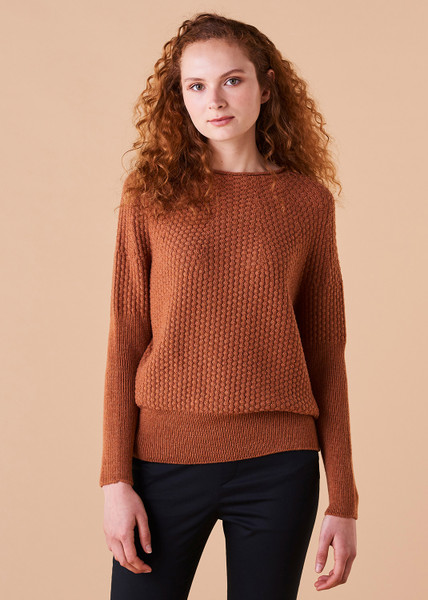 Bellamy Jumper - Amber (front)