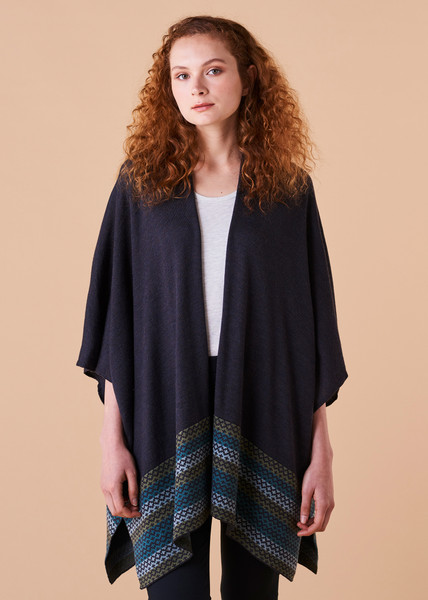 Isla Cape - Teal (front)