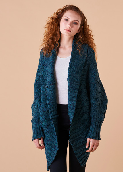 Mabel Cardigan - Ivy (front)
