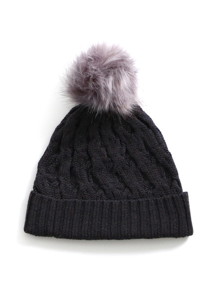 Mabel Beanie - Blackcurrant