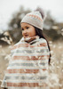 Alice Kids Beanie - Wheat