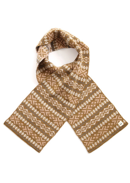 Alice Kids Scarf - Nutmeg