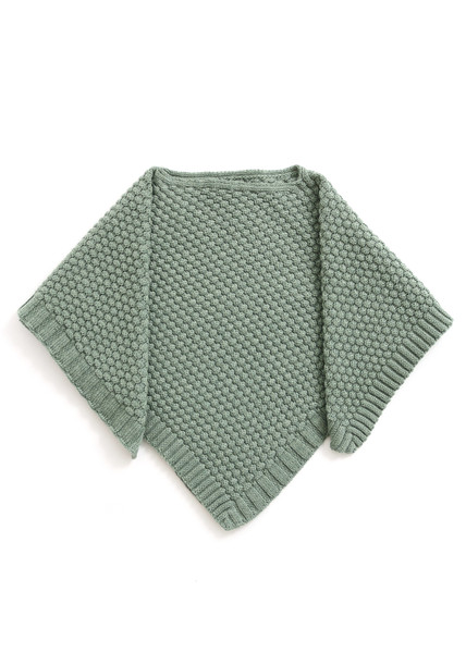 Bellamy Kids Poncho - Jade