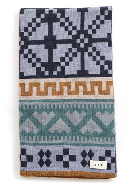 Prairie Blanket - Indigo