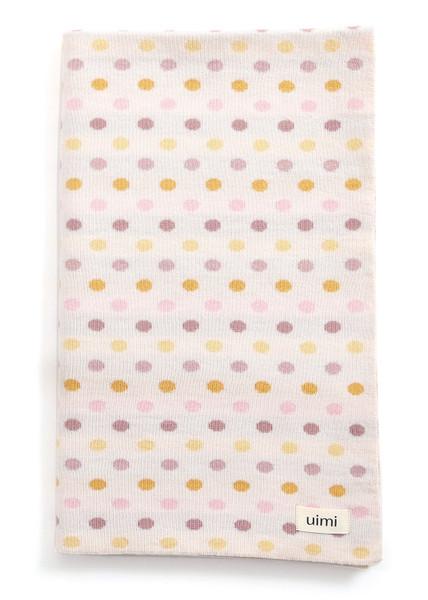 Smarties Blanket - Merino Wool - Rosewood