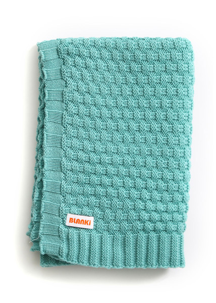 Bellamy Blanket - Aqua
