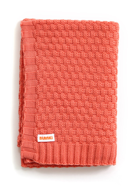 Bellamy Blanket - Peach